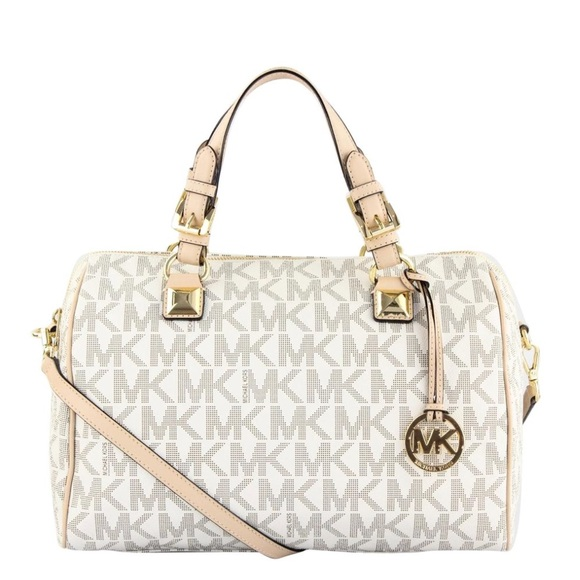 78687271251c MK Grayson Convertible Vanilla Monogram Canvas bag.  M_5b8dd30f2830951693bb836b